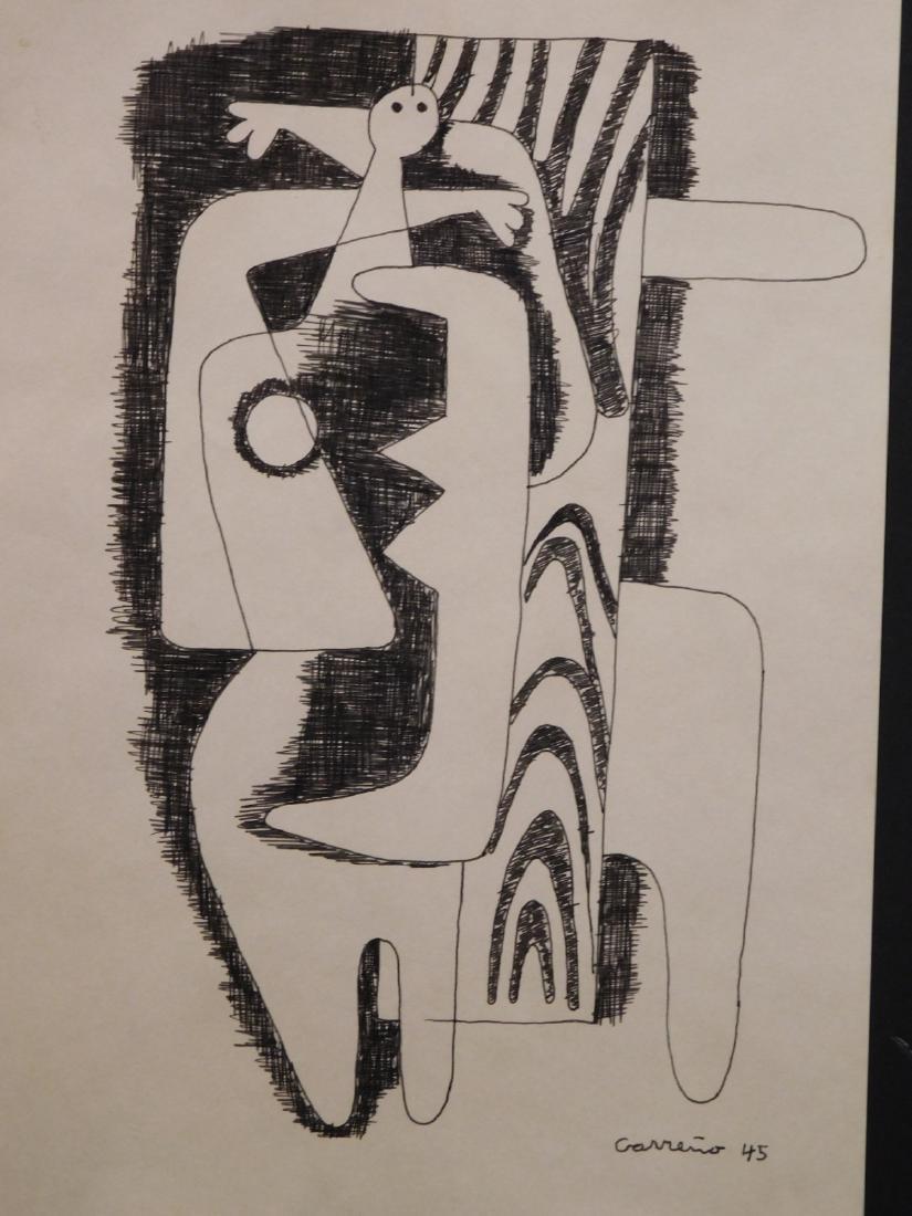 Mario Carreno: Cubist Woman 1945