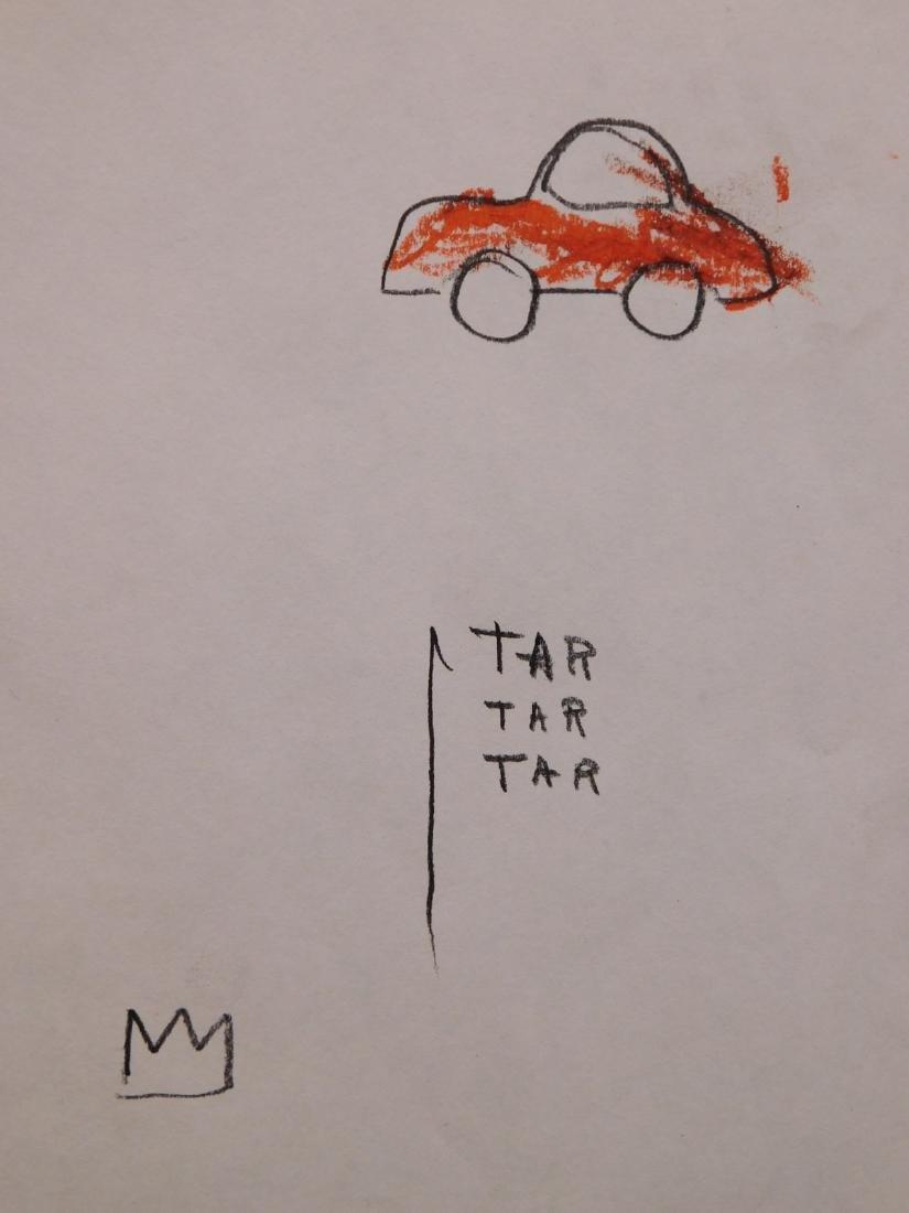 Jean Michel Basquiat: TAR TAR TAR