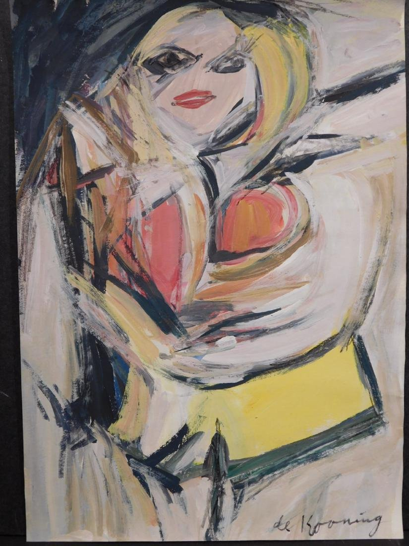 Willem de Kooning: Woman