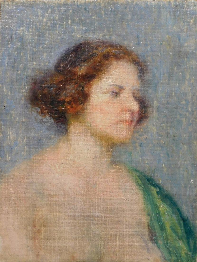 Georges Aufray: Portrait of a Lady