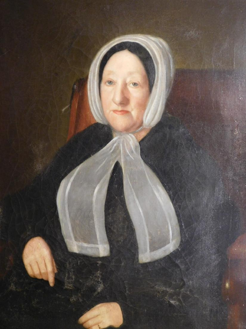 Attributed to Chester Harding: Portrait of a Woman