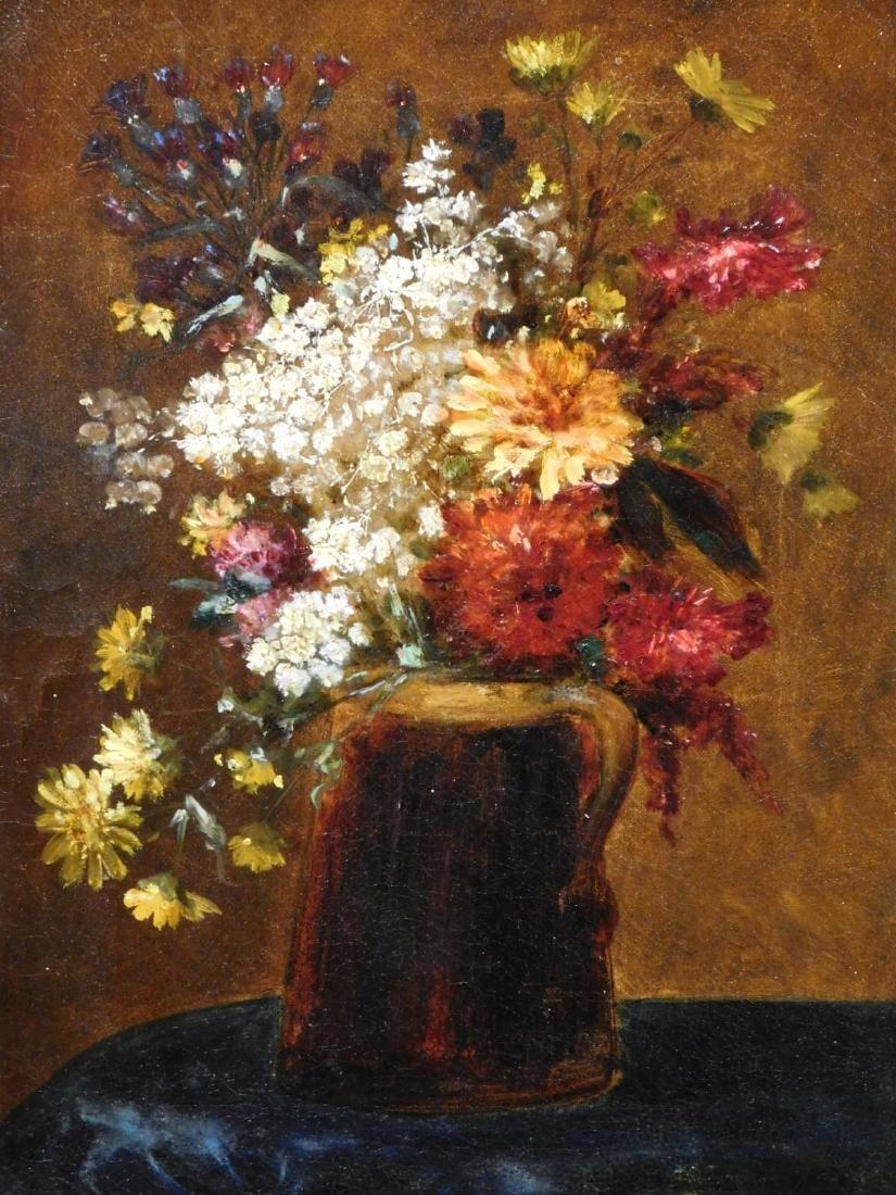 Henri- Theodore Fantin Latour: Bouquet de Fleurs