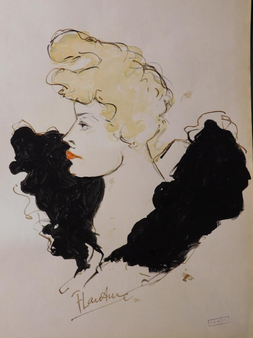 Henri de Toulouse-Lautrec: Cabaret Portrait