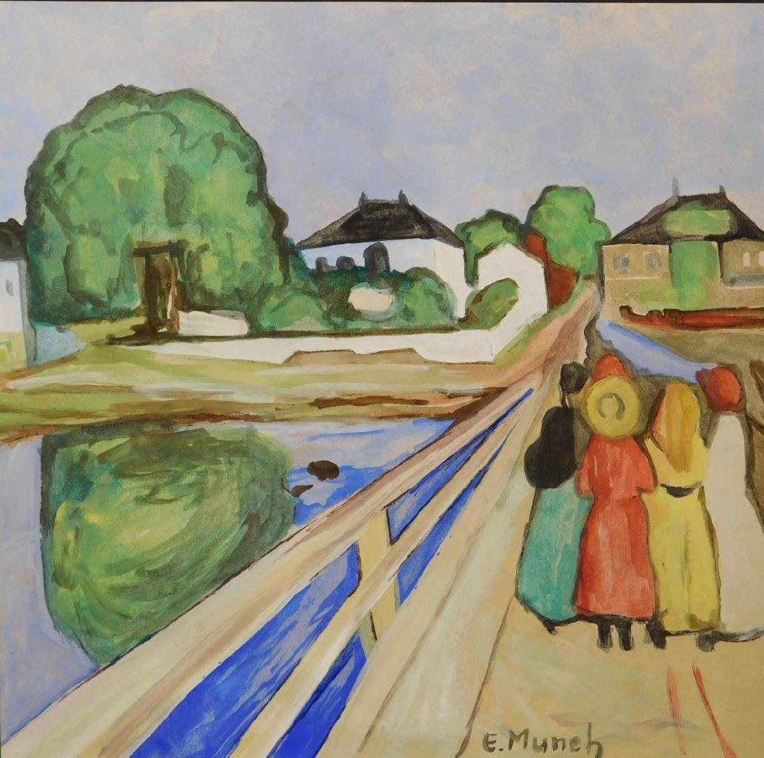 Manner of Edvard Munch: Women