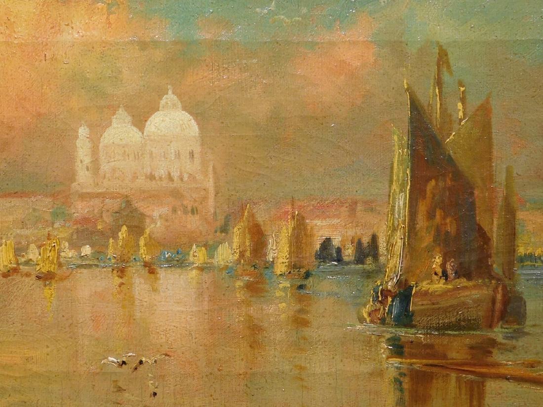 Thomas Sidney Moran: Venice Canal