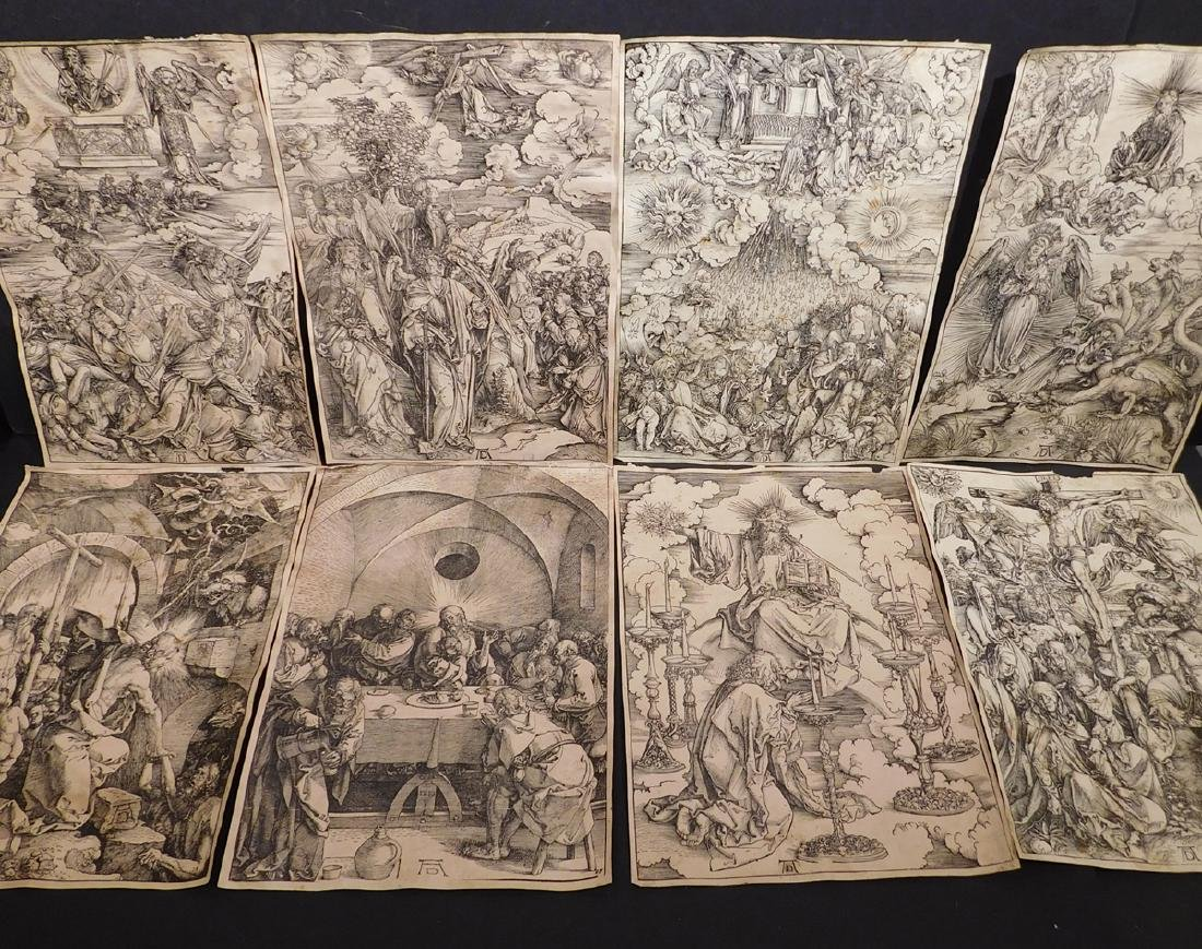 After Albrecht Durer: 8 Prints from the Apocalypse and