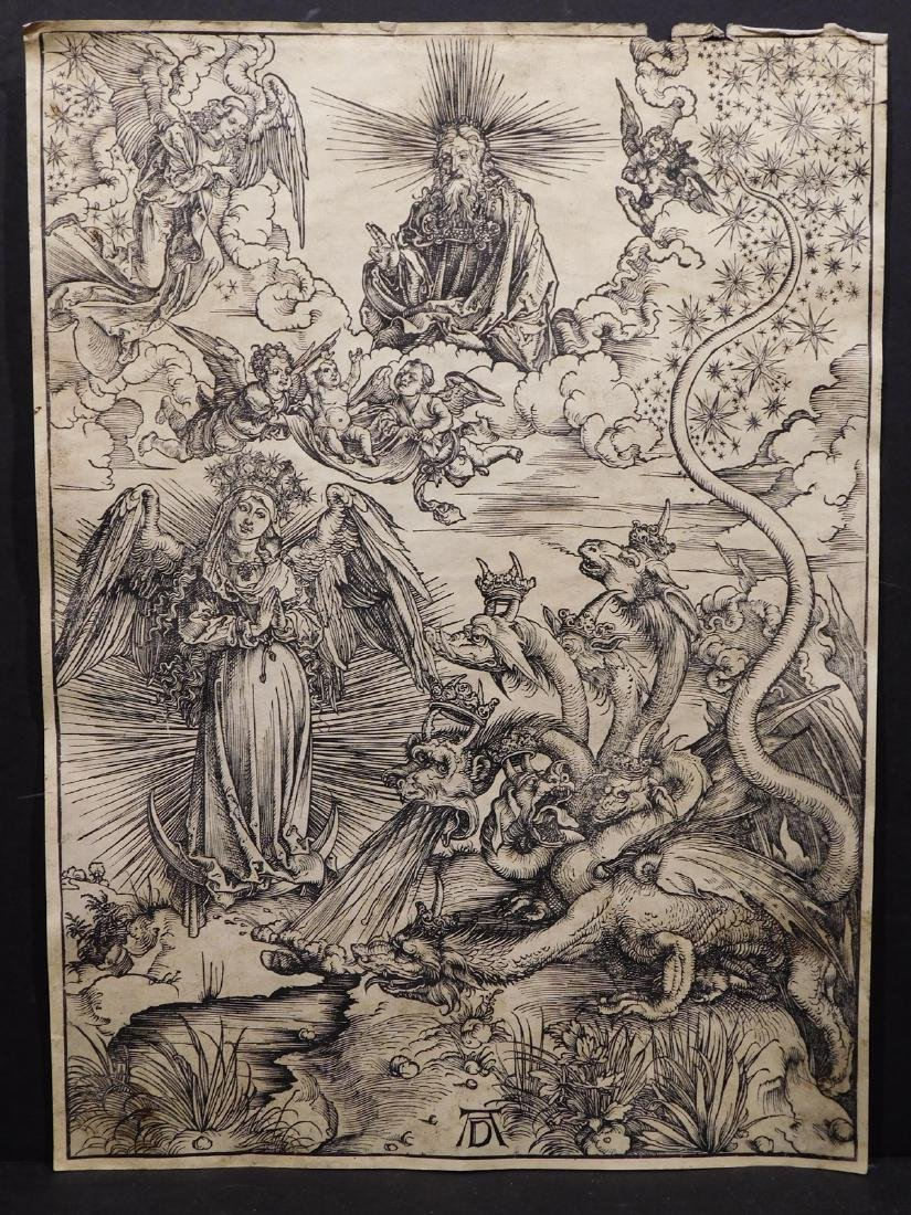 After Albrecht Durer: 8 Prints from the Apocalypse and - 6
