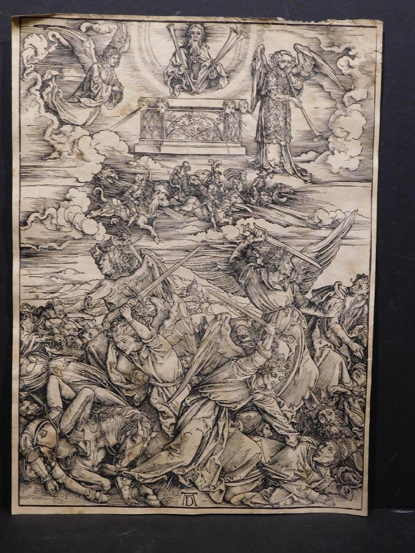 After Albrecht Durer: 8 Prints from the Apocalypse and - 9