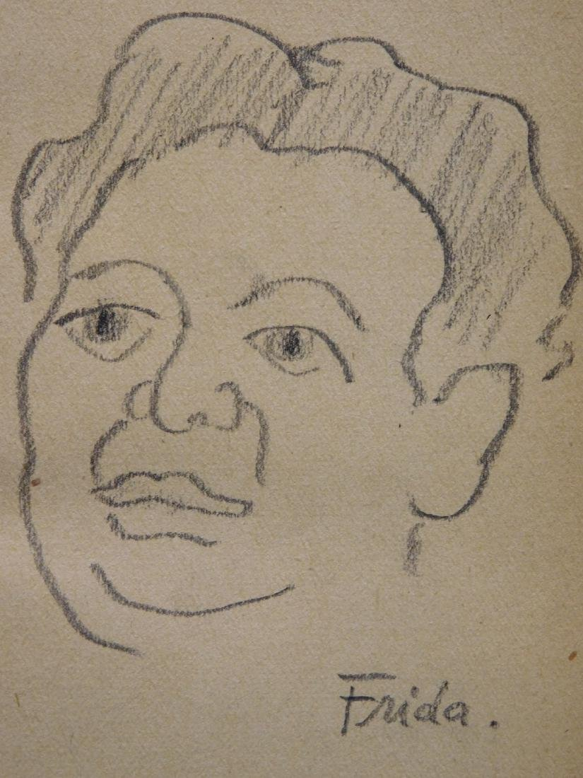 Frida Kahlo: Sketch of Diego