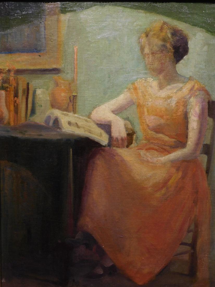John Whorf: Woman Reading