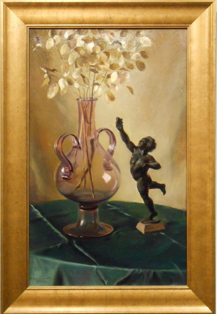 Joseph S. Trovato: Still Life with Statue