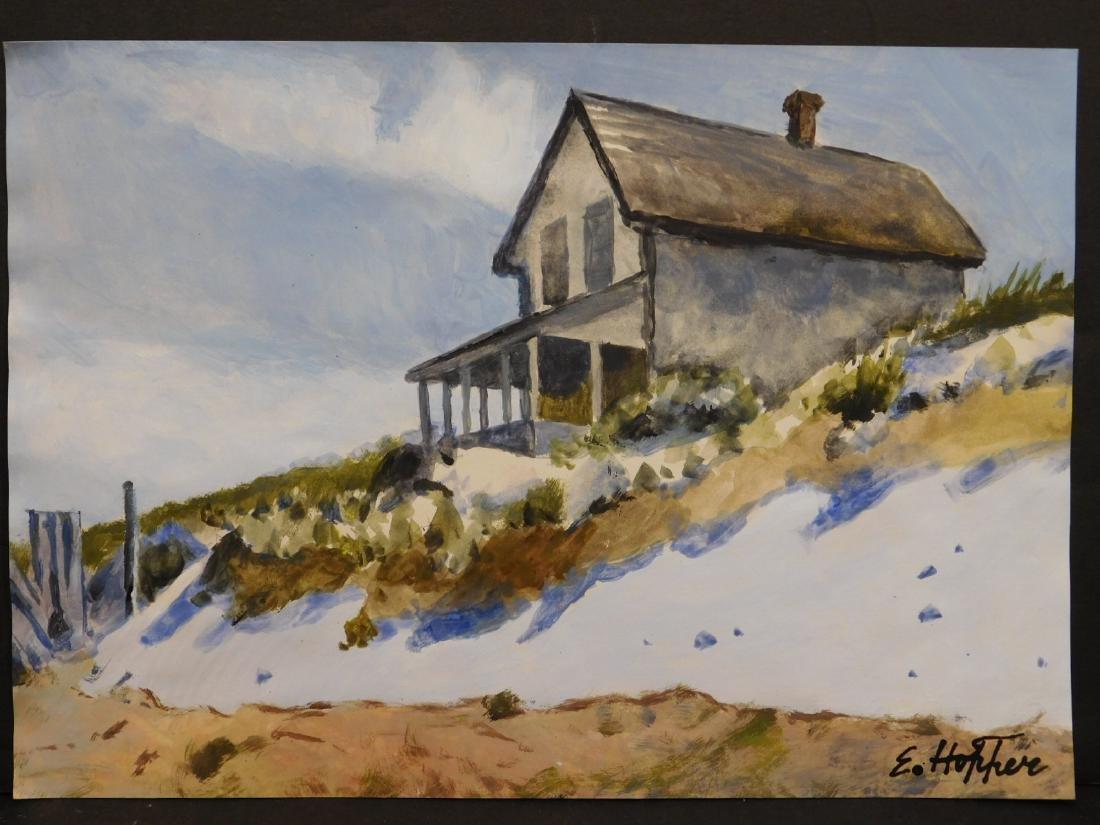 Manner of Edward Hopper: House (study)