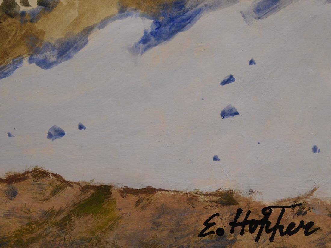 Manner of Edward Hopper: House (study) - 4