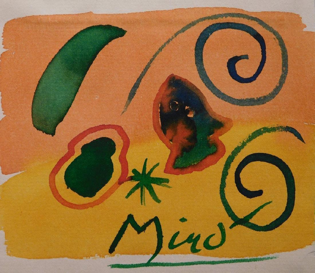 Joan Miro: Abstract Composition