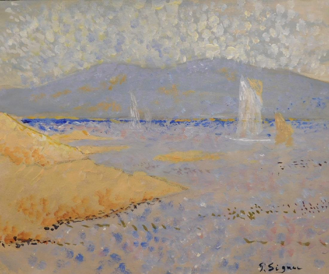 Paul Signac: Pointillist Landscape