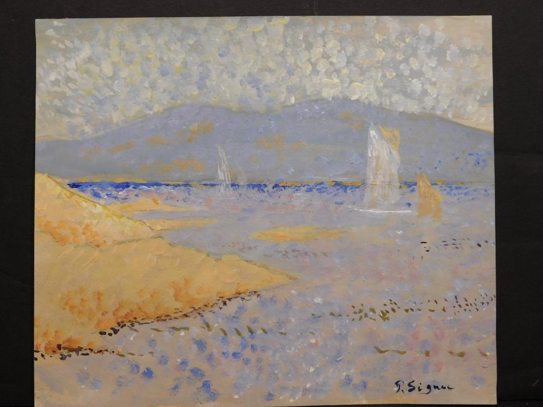 Paul Signac: Pointillist Landscape - 2