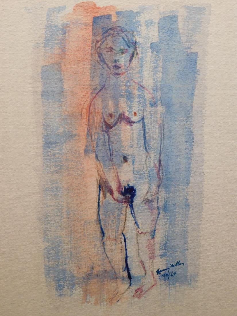 Henry Miller: Female Nude