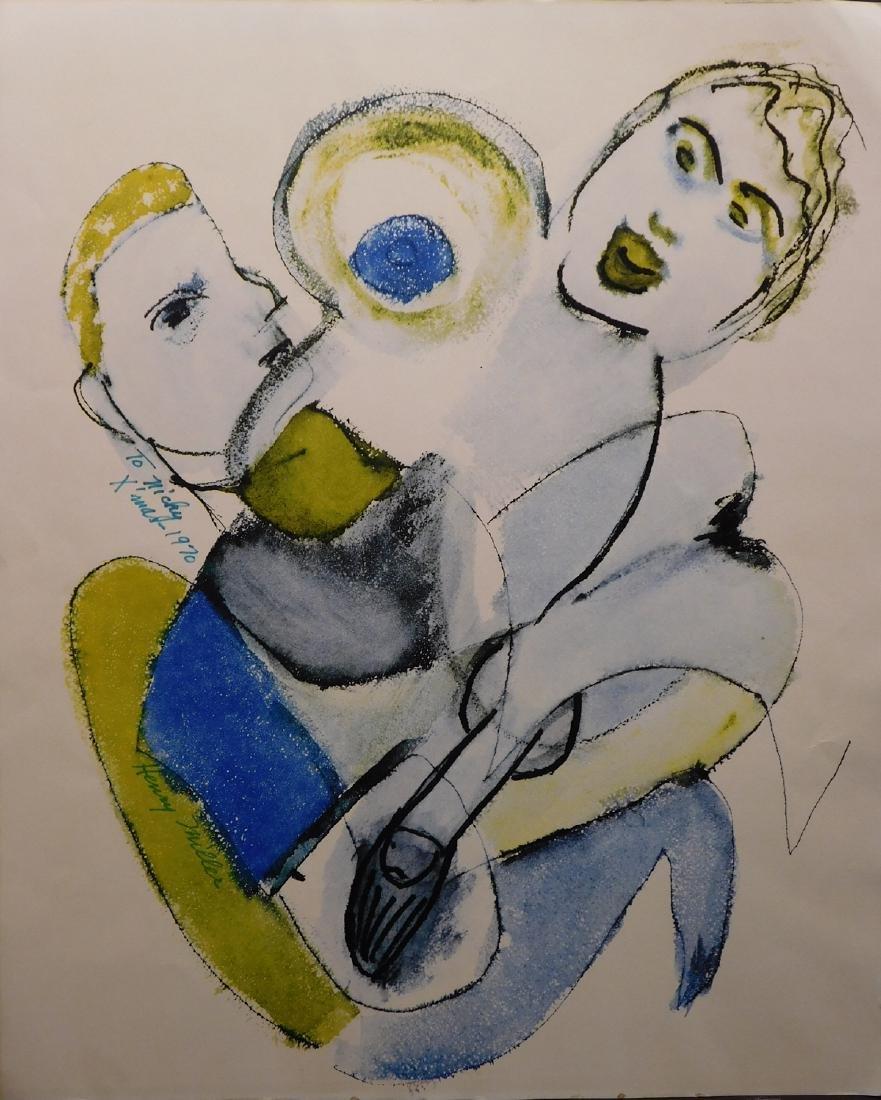 Henry Miller: Untitled - Tangled Figures
