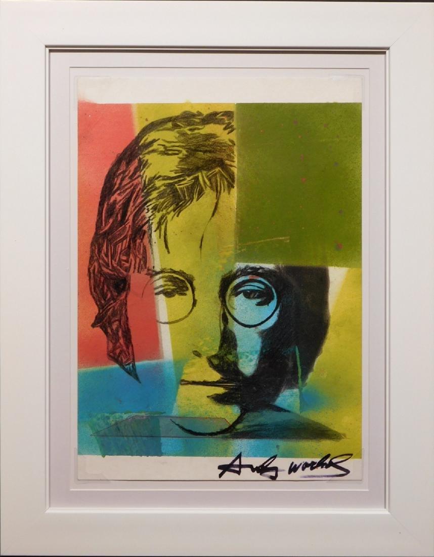 Andy Warhol: John Lennon Portrait