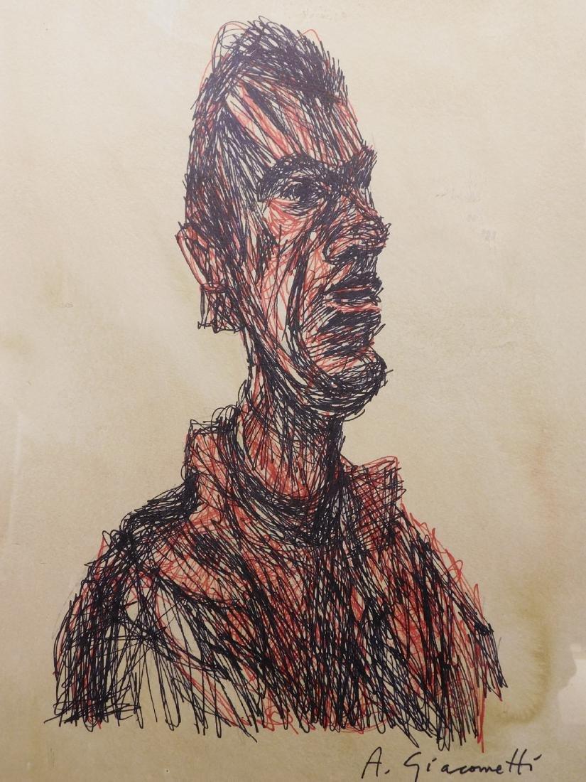 Alberto Giacometti: Portrait of a Man