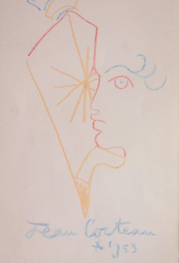 Jean Cocteau: Souvenir Drawing