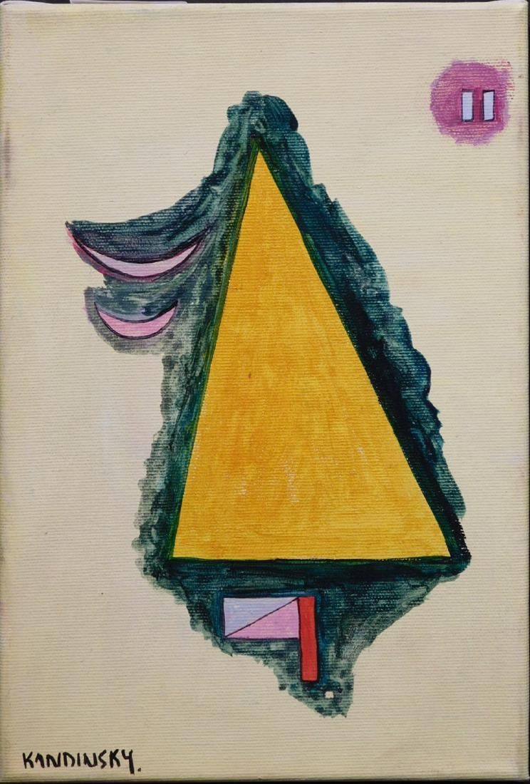 Wassily Kandinsky: Abstract composition