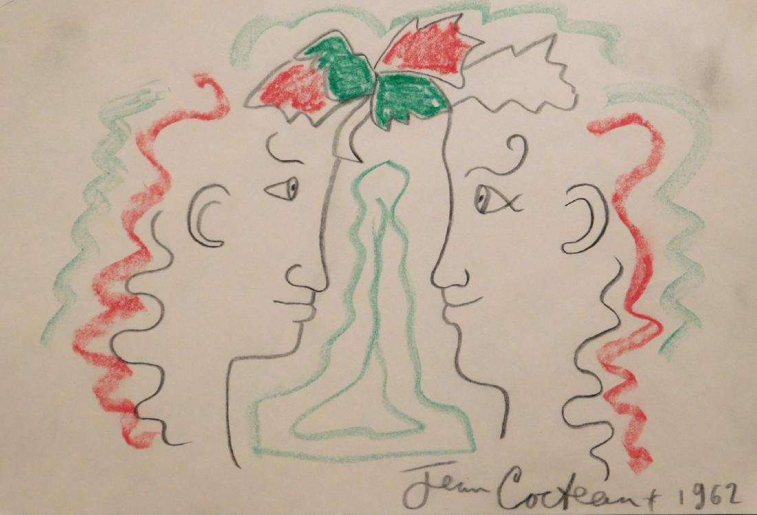 Jean Cocteau: Two Men
