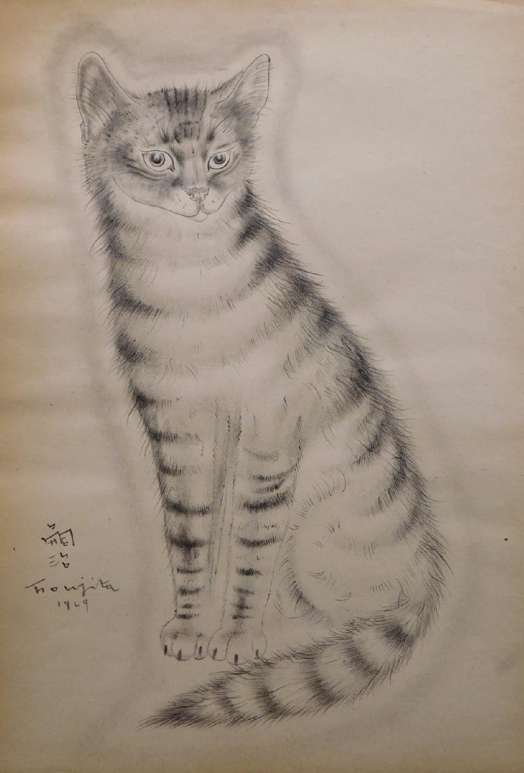 Tsuguharu Foujita: Cat 1929
