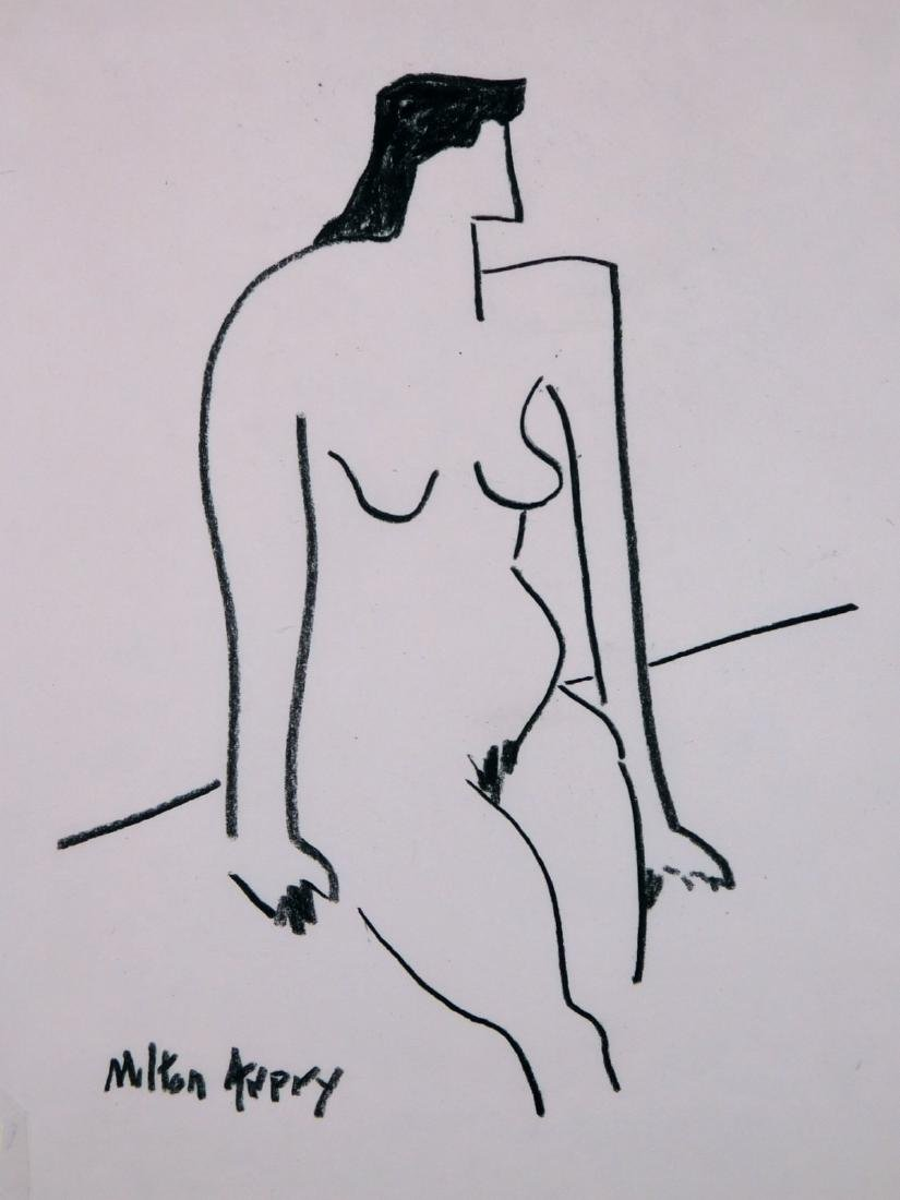 Milton Avery: Female Figure