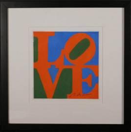 Robert Clark Indiana: LOVE