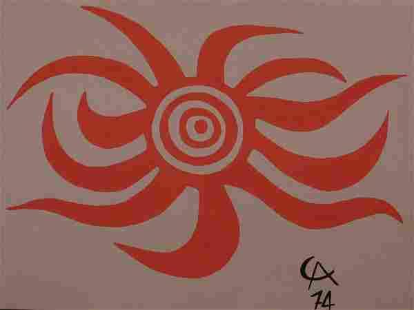 Alexander Calder: Sunburst