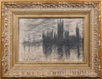 Claude Monet: Westminster Study