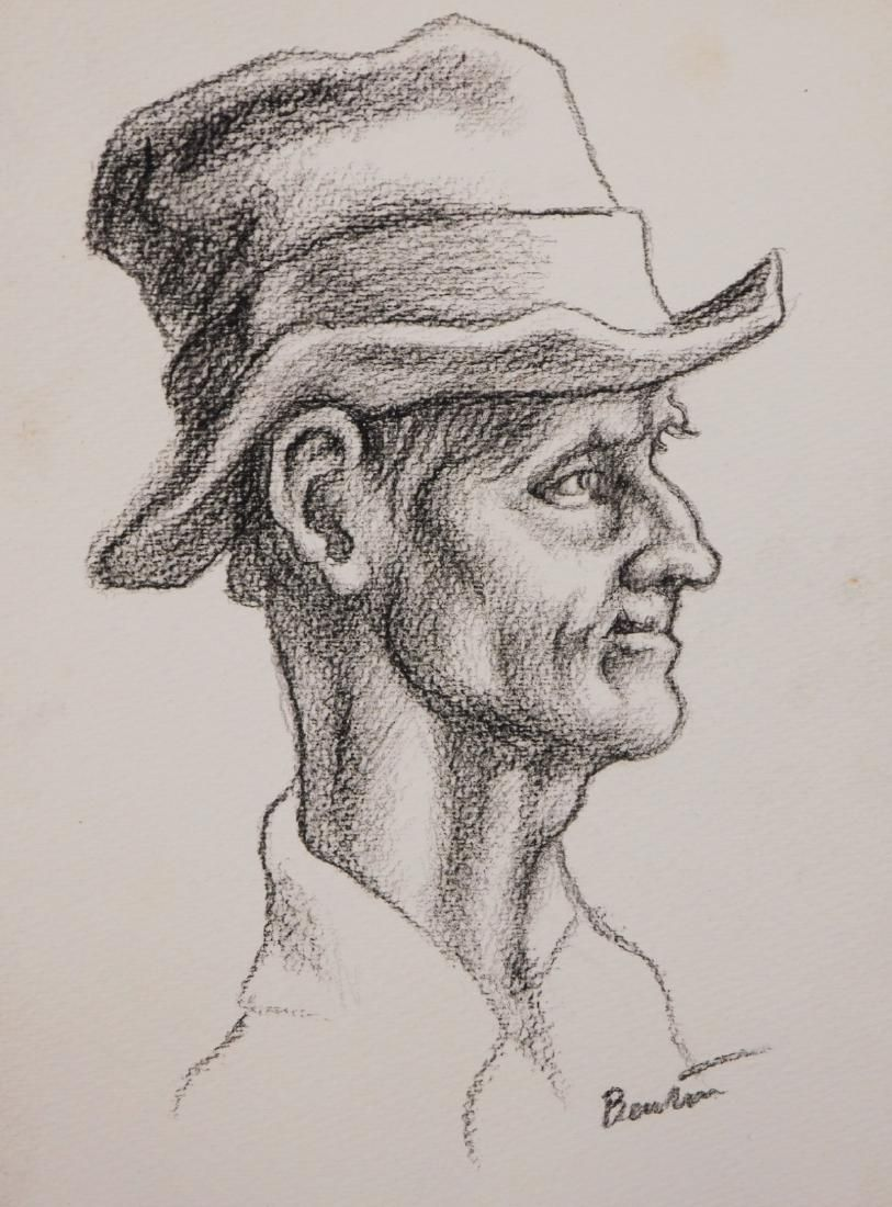 Thomas Hart Benton: Portrait of a Man