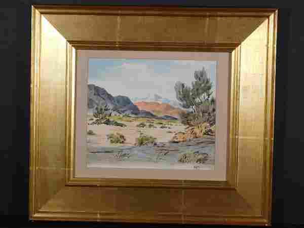 Maynard Dixon: Desert Landscape