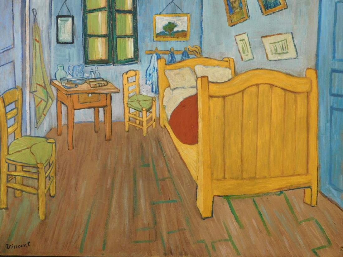 vincent van gogh bedroom at arles rh liveauctioneers com van gogh bedroom 3d van gogh bedroom in arles