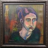 Alexej von Jawlensky Portrait of a Woman