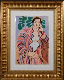 Henri Matisse: Portrait of a Seated Woman