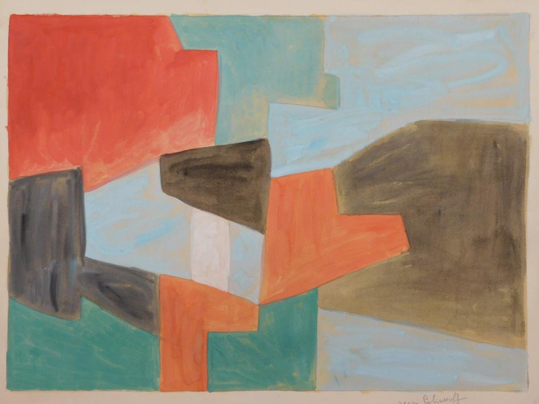 Serge Poliakoff: Abstract Composition