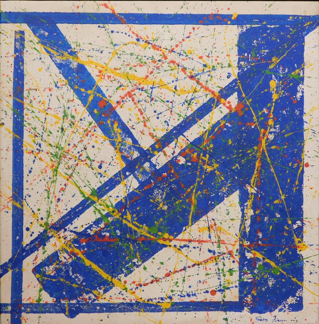 Sam Francis: Abstract Composition - 2