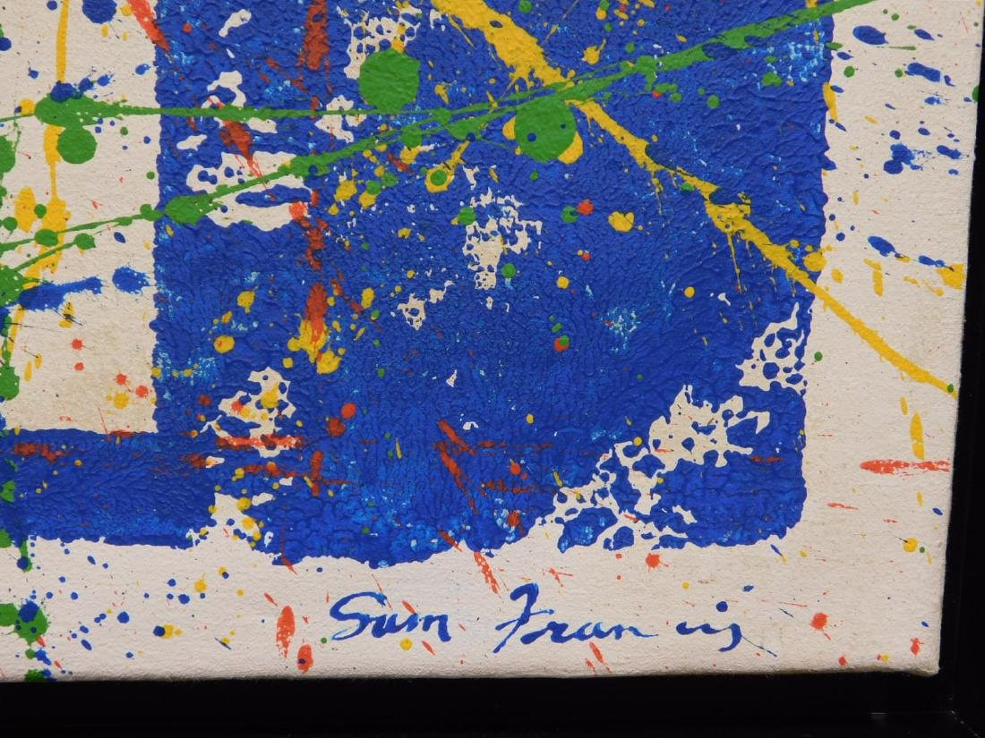 Sam Francis: Abstract Composition - 6