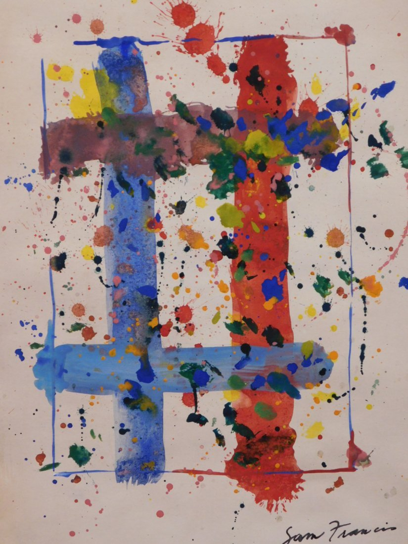 Sam Francis: Abstract Composition - 3