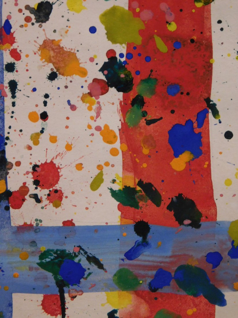 Sam Francis: Abstract Composition - 4