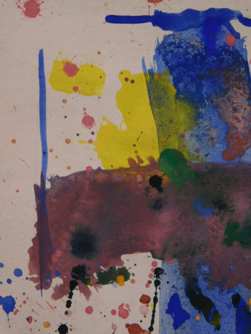 Sam Francis: Abstract Composition - 8