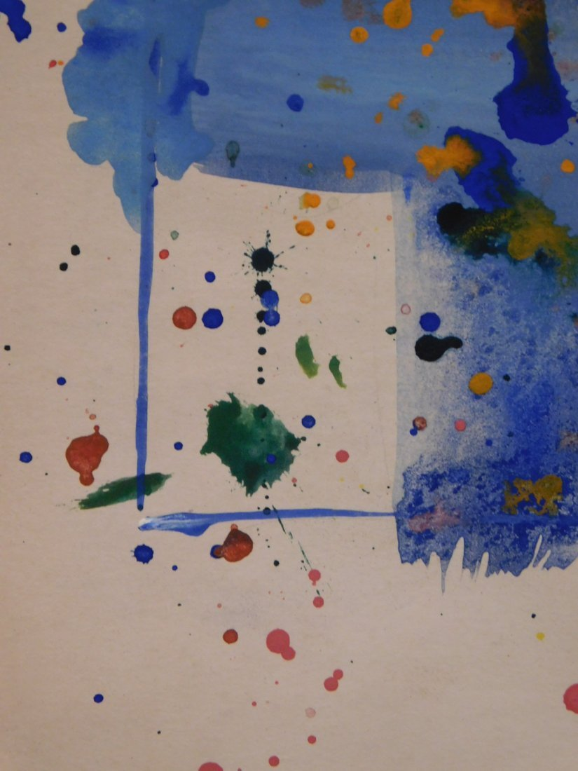 Sam Francis: Abstract Composition - 9