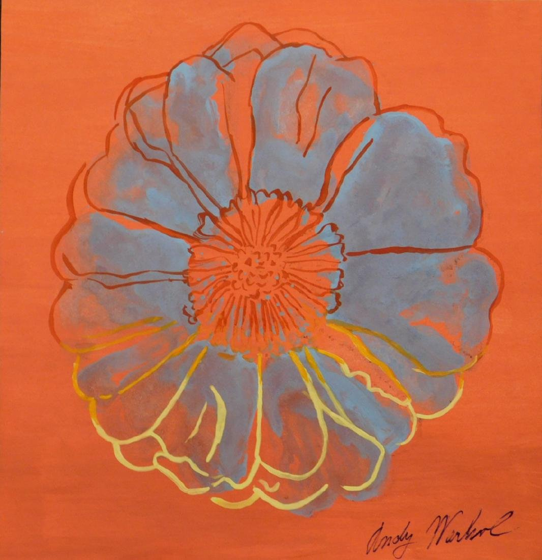 Andy Warhol: Flower