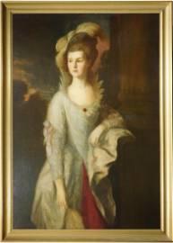 Thomas Gainsborough: Mrs. Graham