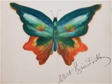 Albert Bierstadt: Butterfly