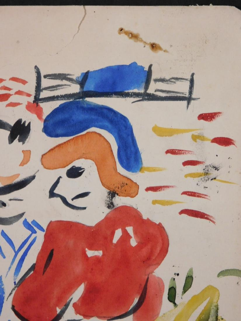 Andre Derain: Watercolor with Figures - 5