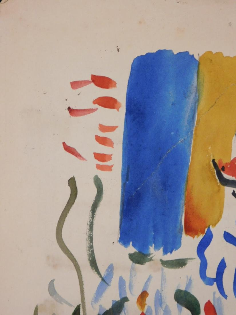 Andre Derain: Watercolor with Figures - 6