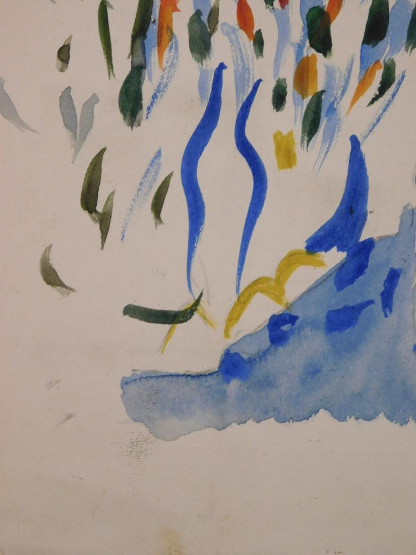 Andre Derain: Watercolor with Figures - 7